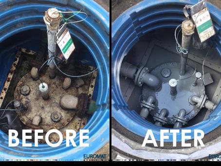 Wat te doen bij de renovatie en schoonmaak van kamers en mangaten van benzinestations - Euromat