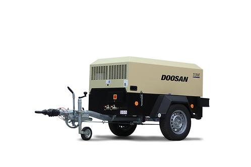 Mobiele Compressor: Doosan 3m³/min - 7 bar