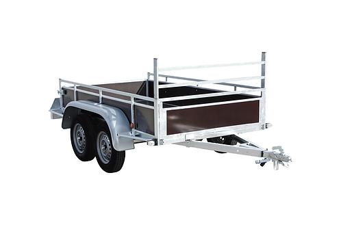 Aanhangwagen Ongeremd - <750kg