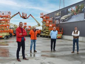Officiële overdracht nieuwe Hoogwerkers en Schaarliften
