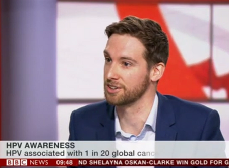 NOMAN ON THE BBC + HPV AWARENESS DAY