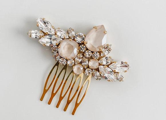WILDE: Ivory Rhinestone Bridal Comb