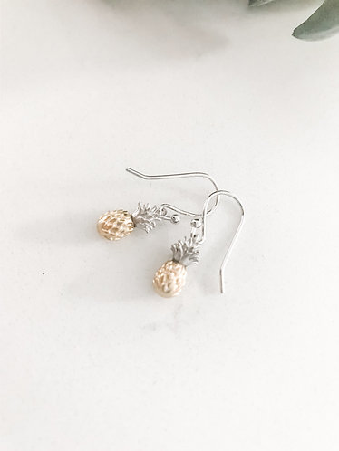Pineapple Dangle Summertime Earrings