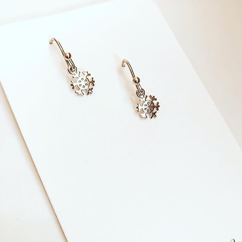 MINIATURE SNOWFLAKE Earrings