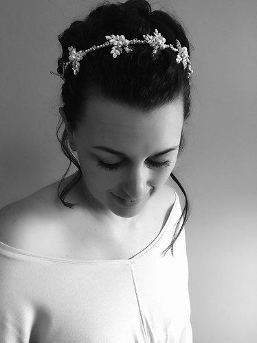 BECKETT: Ethereal Leaf Bridal Headband