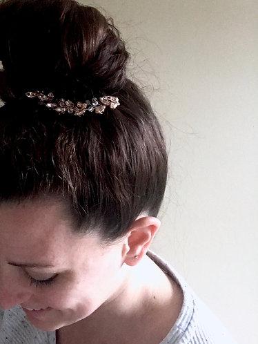 SHAY: Crystal Vine Hair Pin
