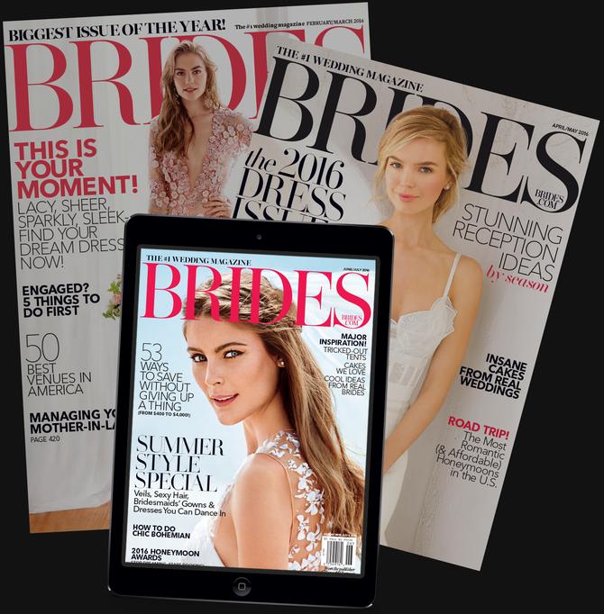 BRIDES Magazine: UK Bridal Magazine Feature!