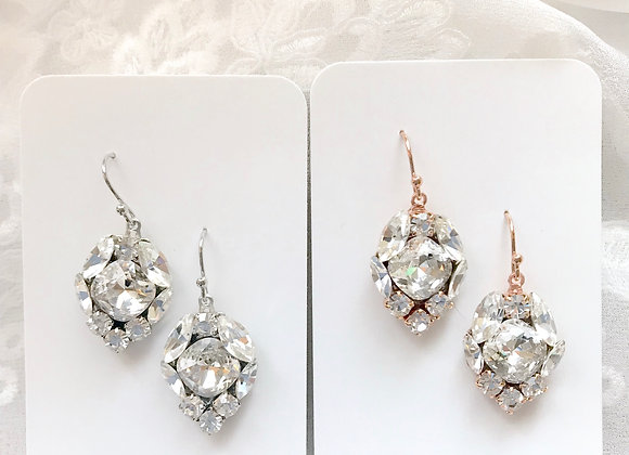 CAMMIE: Swarovski Crystal Jeweled Earrings