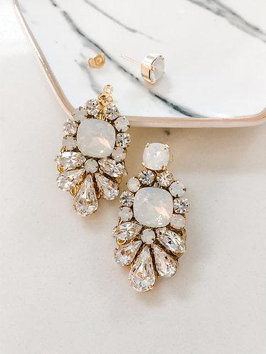 COLLETE: 2 in 1 Bridal + Everyday Earrings