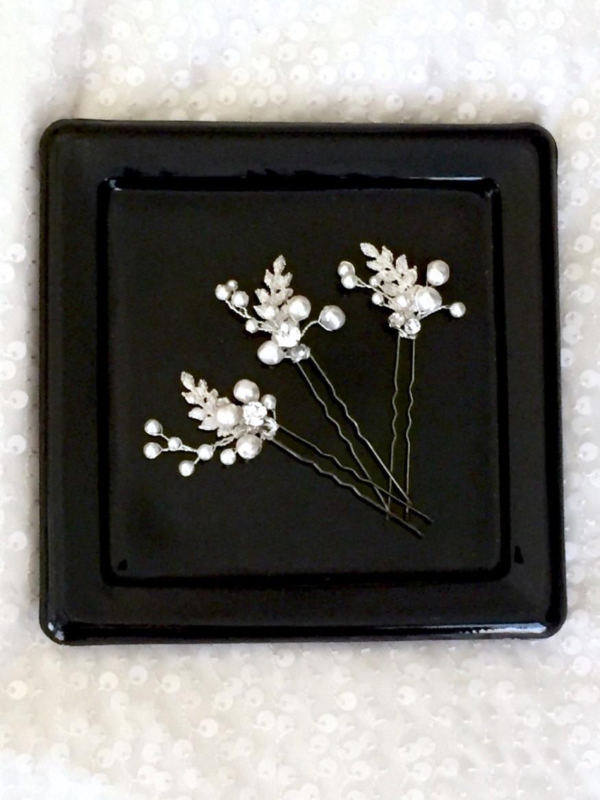 Leaf Bridal Pins