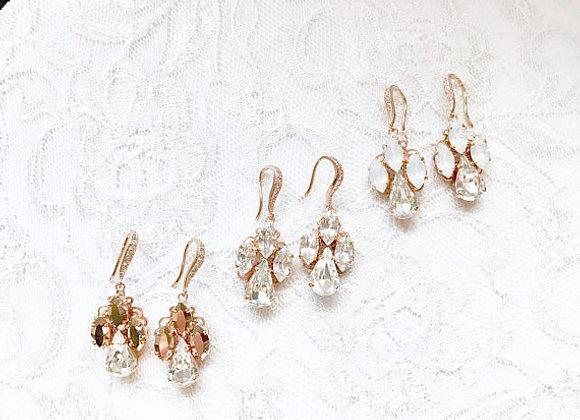 EMMA: Customizable Rhinestone Hue Earrings