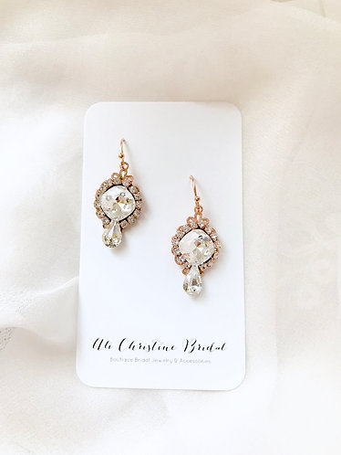 KATIA: Perfect Sparkle Swarovski Earrings