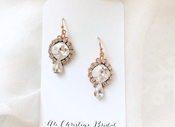 KATIA: Perfect Sparkle Swarovski Earrings