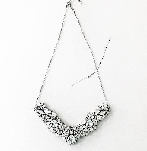 FLORENCE: Opal Jeweled Bridal Necklace
