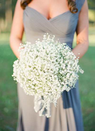 Chelsey Boatwright Photography, Baby's Breath Bouquet