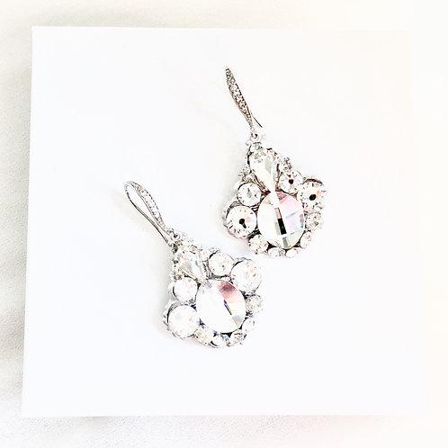 AVINA: Rhinestone Bridal Earrings