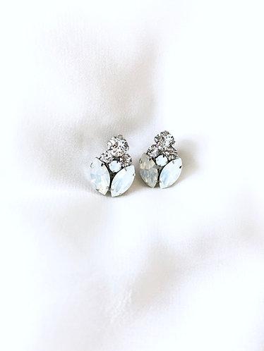 LAURA: Post Style Swarovski Earrings