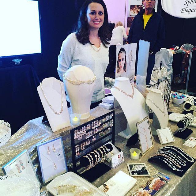 Ali Christine Bridal, RECEPTIONS Bridal Booth 2016