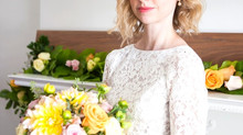 Real Bride: Classic Bride, Margaret from Toronto, Canada