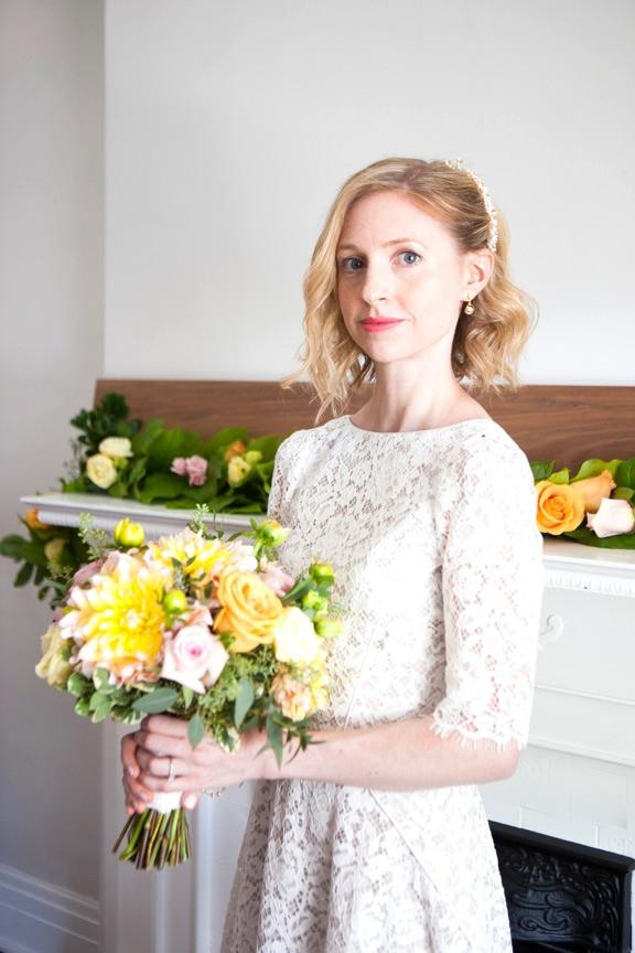 Real Bride: Classic Bride, Margaret from Toronto, Canada