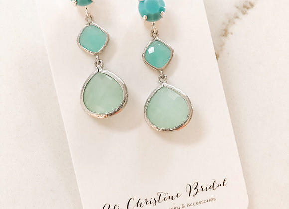 OMBRE CARIBBEAN BLUES Earrings