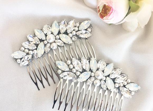 HARPER: Swarovski Bridal Comb