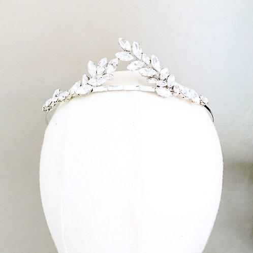 EMPRESS: Rhinestone Bridal Crown