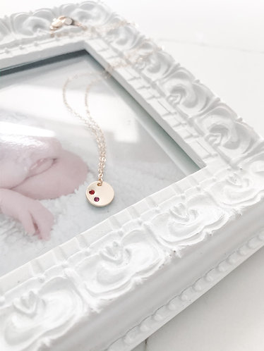 LOVED ONES Birthstone Pendant Necklace