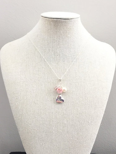 Sweet Boutique Flower Gift Necklace for Mom