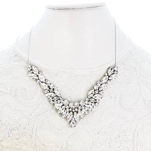 HENNA: Swarovski Rhinestone Bridal Necklace