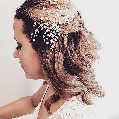 FINN: Pearl Spray Bridal Hairpin