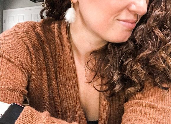 WARM FUZZIES Earrings