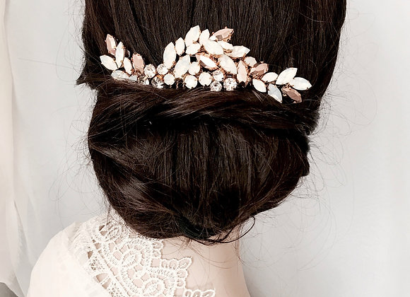 STELLA: Rose Gold & Opal Hair Adornment