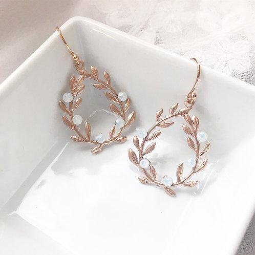 VALERIE: Crystal Ivy Earrings