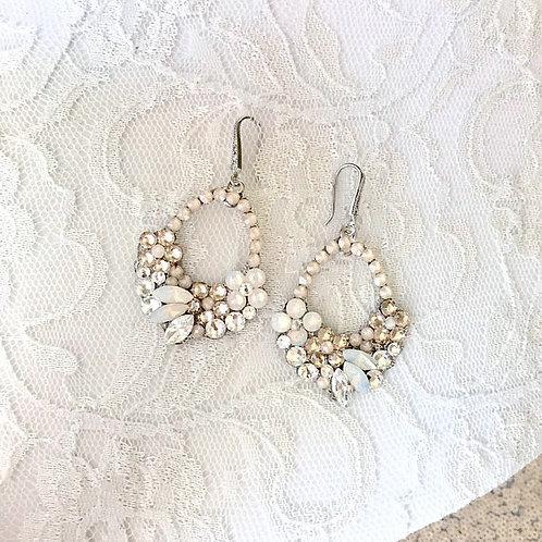 SANDY: Boho Bridal Earrings