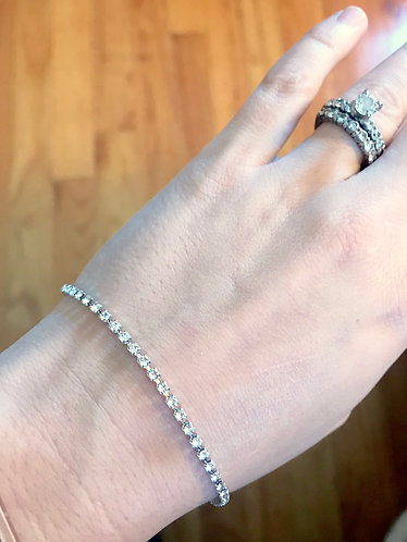 JANE: Mini Swarovski Crystal Bracelet