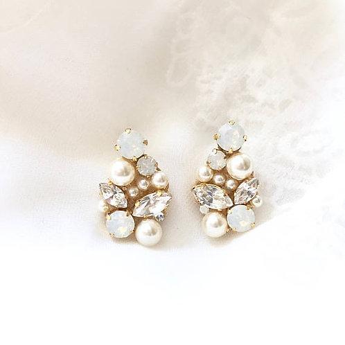 DREAMER: Statement Swarovski Bridal Earrings