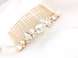 In the Studio: Golden Hues for your fall bridal look!
