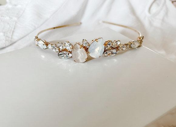 ARIA Bridal Tiara in gold or silver