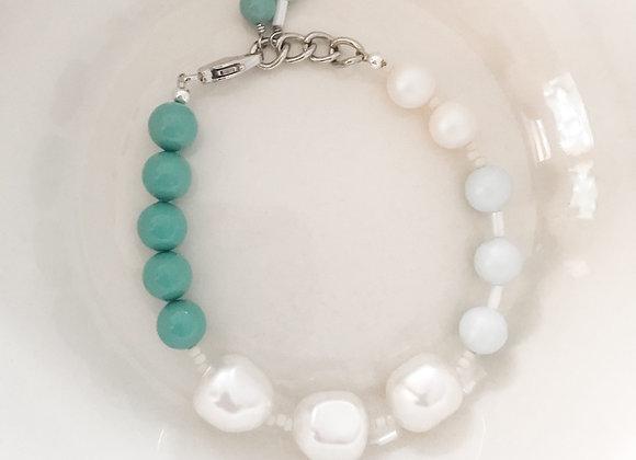 OCEAN AIR Beaded Bracelet