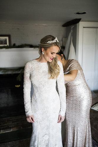 ISLA:Opal Bridal Tiara