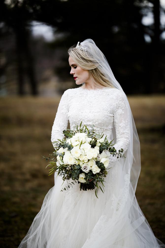FEATURED BRIDE: A dreamy Rhode Island bride!