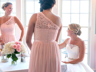 Real Bride: Jennifer's Soft Pink & Blush Wedding!