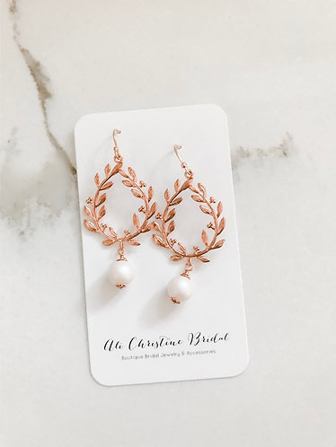 ROSE GOLD PEARLESCENT Earrings