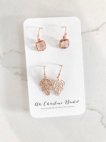 ROSE GOLD HUES Duo Set ONE LEFT