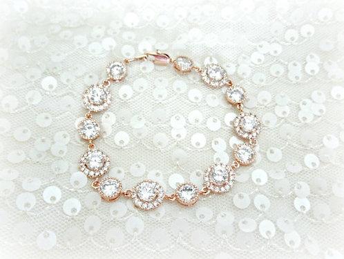 Round CZ LUX Royal Bracelet