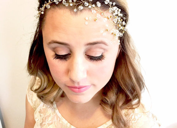 Crystal Bridal Hair Vine