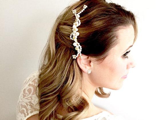 MARGARET Pearl Vine Hair Comb
