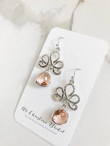 ROYAL BLUSH Earrings