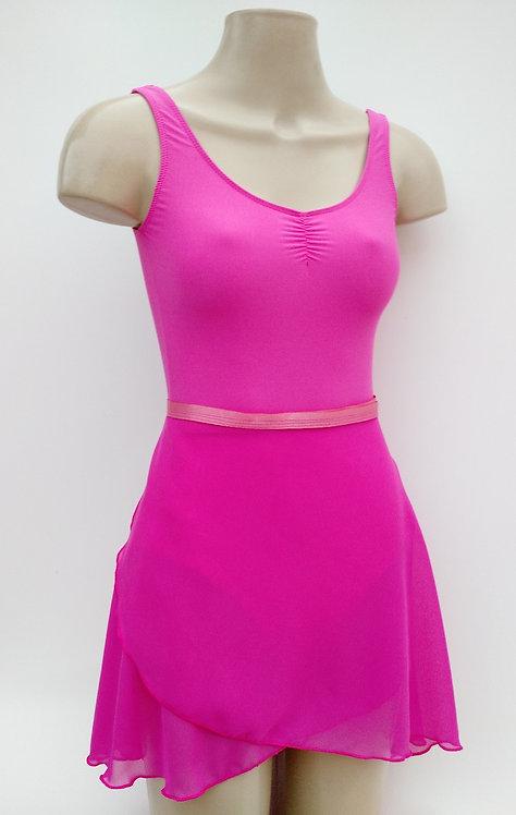 Saia- Rosa Pink Longa